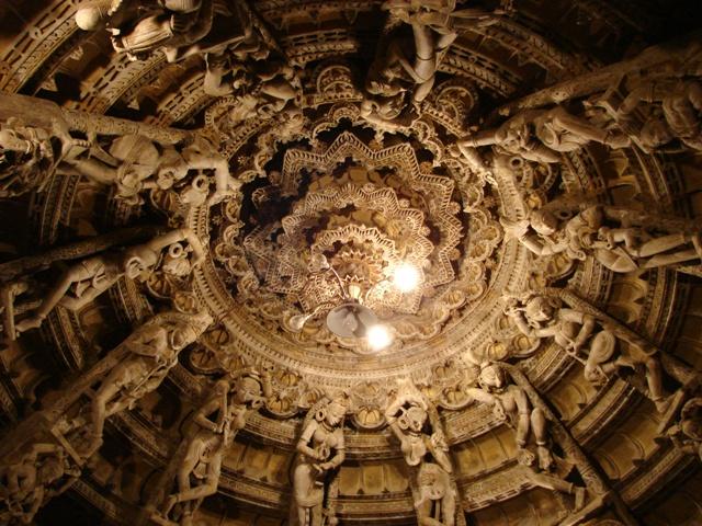 Jain Temple, Dancers on the Roof, Jaisalmer