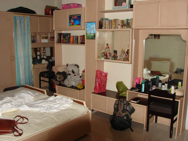 It was yesterday once more as I returned to the sanctuary of my youth --- my bedroom!