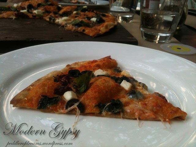 Woodfired pizza, Olive bar and kitchen, Delhi