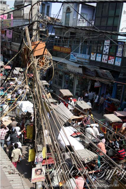 Chawdi Bazaar, Old Delhi, India