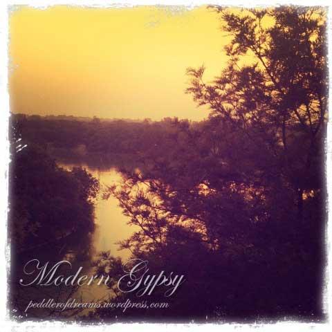 The lake, Hauz Khas Village, Delhi
