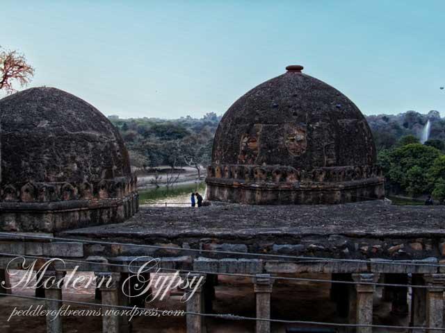 Old ruins of Hauz Khas, Hauz Khas Village, Delhi