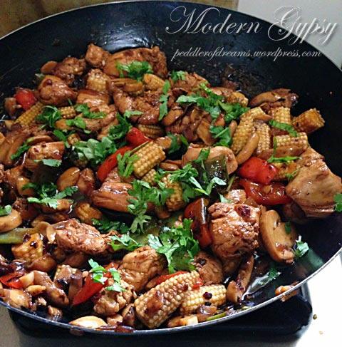 Stir Fried Chicken