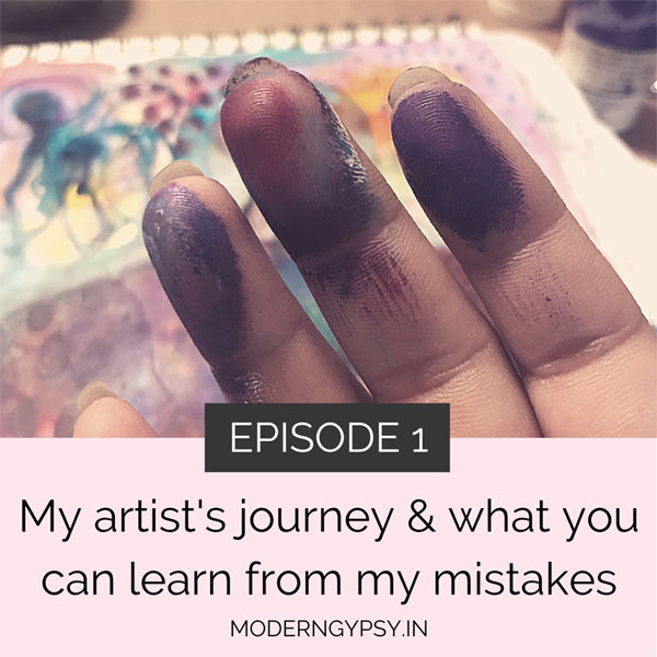 The art with soul podcast - My artist's journey