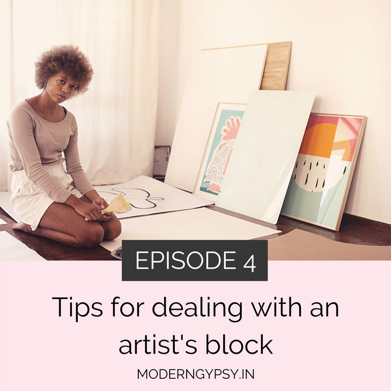 how to overcome artists block